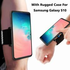Sports Running Armband Wristband For Samsung Galaxy S10 With Phone Rugged Case