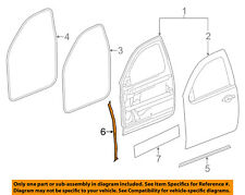 GM OEM Front Door-Front Weatherstrip Weather Strip Seal Left 20964208