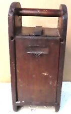 12 STICK Coal Miner's WOODEN DYNOMITE  BOX USED IN UNDERGROUND COAL MINING
