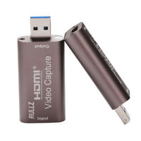 HDMI to USB 3.0 Video Capture Card 1080P Recorder For Webcam Live Streaming Game