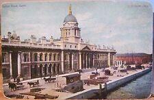 Irish Postcard CUSTOM HOUSE Liffey Dublin Ireland F von Bardeleben US 138/6 udb