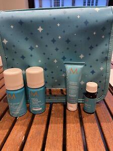 Moroccanoil Styling Superstars Treatment Oil Gift Set Wash Travel Bag