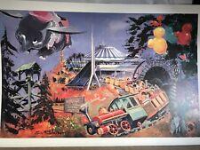 Disneyland Lithos Five Decades Of Visual History Eric Robison