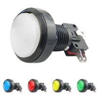Illuminated Arcade Video Game Push Button Switch LED Light Lamp 60mm DC 12V sale