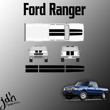 Ford Ranger Rally Racing Stripes Vinyl Decal Sticker Graphics Kit Truck
