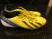 Adidas F50 f5 Trx Soccer Cleats Men's Size 7 Yellow