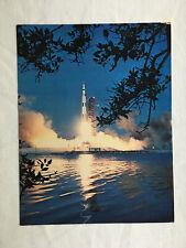 NASA Apollo 6 Launch Litho