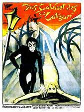 ARMADIO Dottore Caligari SILENZIOSO orrore Krauss GERMANY art print poster bb8247
