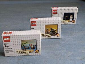 LEGO Classics Trio - 5003082 Pirates 5002812 Space 5004419 Knights