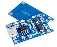 5V 1A Micro USB 18650 Battery Charging Lademodul Schutzschaltung TP4056 TE4 LIPO