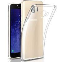 Custodia Cover Back Case Ultra Slim in Silicone per Samsung Galaxy J4 J6 J8 2018