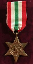 Great Britain Wwii Italy Star 1939-1945