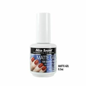 Mia Secret Matte Gel UV LED Odorless Long Lasting