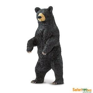 Safari ltd 181629 Black Bear 4 5/16in Series Wild Animals
