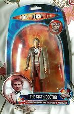 THE SIXTH DOCTOR REGENERATION FIGURE from 'THE CAVES OF ANDROZANI' Mint New