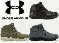 "UNDER ARMOUR 5"" MEN'S UA VALSETZ RTS WATERPROOF 1.5 BOOTS 3022854-001  ALL SIZES"