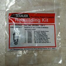 053363 SEXAUER Rebuilding Kit for Quaturn Faucets of All Types and Models