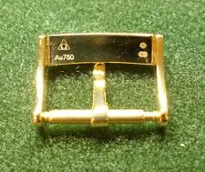 OMEGA solid gold (18K/Au750) pin buckle 16mm