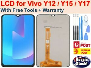 "For Vivo Y12 Y15 Y17 6.35"" LCD Display Touch Screen Digitizer Replacement BLACK"