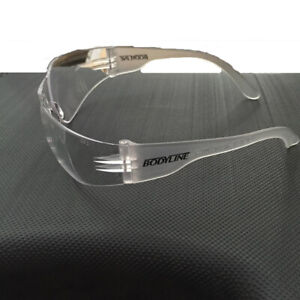 BODYLINE CLEAR SAFETY GLASSES PACK OF 12