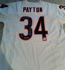 WALTER PAYTON 5 Inscription Career Autographed Jersey WPF Authenticated LE 30/34