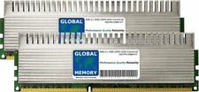 4GB (2x 2gb) DDR3 2000MHz PC3-16000 240-PIN Dimm Overclock Pc para Jugar Ram Kit