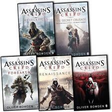 Oliver Bowden Assassins Creed Collection 5 Books Set Forsaken Botherhood Etc