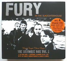FURY IN THE SLAUGHTERHOUSE - The ultimate box Vol. 1 - 5-CD-Box