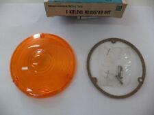 1965-1974 CHEVY & GMC MEDIUM DUTY TRUCK DIRECTION SIGNAL LENS (amber).GM 655789