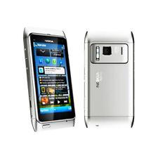 Original Unlocked Nokia Lumia N8 N8-00 3G GPS 16GB Sliver Touchsreen Smartphone