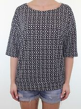 Blouse Polyester Geometric NEXT Tops & Shirts for Women