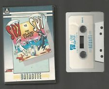 SPY VS SPY THE ISLAND CAPER - Databyte - ATARI 400/800/XL/XE CASSETTE - untested