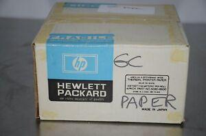 "HP Hewlett Packard 5080-8800 Wide Thermal Printer Paper 4 Rolls 4.25"""