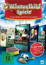 5 Wimmelbild-Spiele PC Neu & OVP
