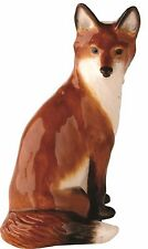 John Beswick Fox Sitting Country Animal Ceramic Figurine Ornament 14cm JBW14 NEW