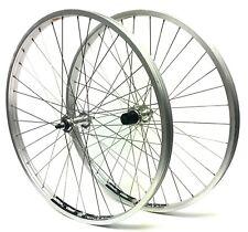 "Alienation, 26"" Rim Brake Bicycle Wheel Set, Formula Non-Disc Silver Stainless"