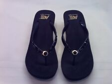 NEW - Black Sandal with Beaded Accent