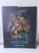 2000 DRALION CIRQUE DU SOLEIL OFFICIAL PROGRAM DANIEL GAUTHIER GUY LALIBERTE