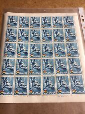Ghana 1959  2/- Complete Sheet Of Stamps As Issued Sg 227 Cat £45