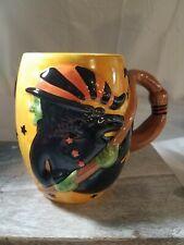 Halloween Witch Ceramic Mug Susan Winget 22fl Oz