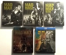 Lot Blu-ray Steelbook : MAD MAX - Intégrale (MAD MAX 4 ed. 3D + BLACK & CHROME)