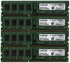 Crucial 8GB (4x2GB) DDR3-1333MHz DIMM PC3-10600 Set Of Desktop Memory Modules