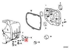 Genuine BMW 247 248 47E T51 T67 T68 R 100 /7 /7T Shaft Seal 26x16x7 23121338740