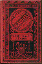 Globos Y Viajes Aeroes-Spanish Language Aviation Book-1885