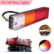 20 LED Truck Trailer Rear Tail Reverse Light Turn Indicator Boat Caravan 12V