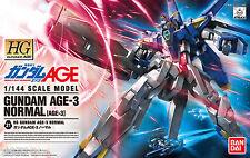 Bandai 1/144 Gundam HG AGE-21 Gundam Normal AGE-3 scale kit 4543112757067