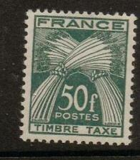 Francia sgd995 1946 so F AFFRANCATURA dovuta MTD MINT