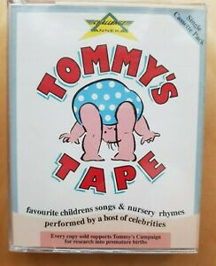 Tommy's Tape Children' Songs & Nursery Rhymes By Celebrities Audio Cassette Tape