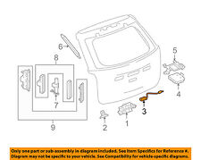 GM OEM Liftgate Tail Tailgate Trunk-Switch 22862011