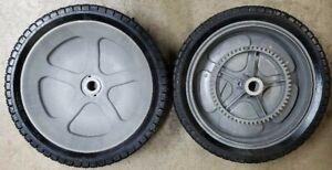 Craftsman Agri-Fab Tow-Behind Leaf & Lawn Sweeper Wheel & Tire Set of 2 40987